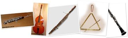 Ver Instrumentos Sinfonía del Nuevo Mundo