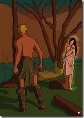 Orfeo pierde a Euridice
