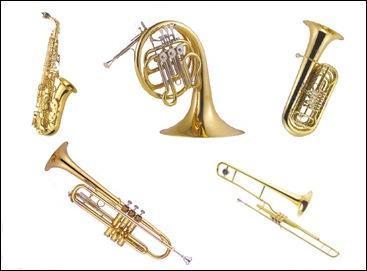instrumento de aliento metal: