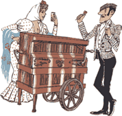 Organillo y chulapos