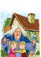 hansel y gretel  color