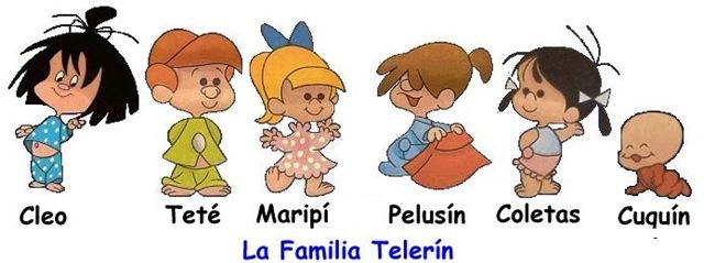 Resultado de imagen de la familia telerín