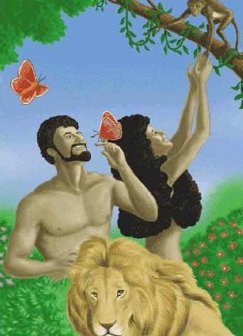 Ad n y eva para la obediencia en clave de ni os for Adan y eva en el jardin del eden