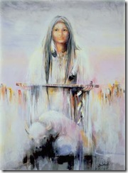 mujer sioux