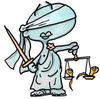 Por qu representamos a la justicia con la balanza y los ojos
