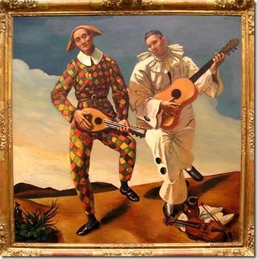 Derain - Arlequin y Pierrot