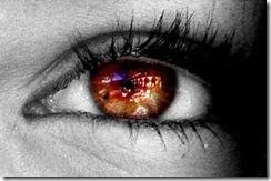 ojo castaño