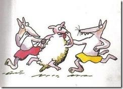los lobos y el cordero