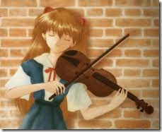 niña violinista
