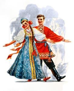 traje tipico ruso