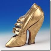 a-vintage-golden-shoe