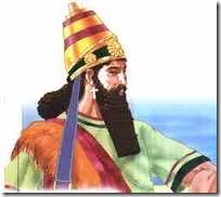 El rey Nabucodonosor II