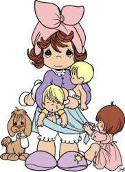 mama- y niños