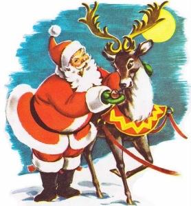 navidad reno