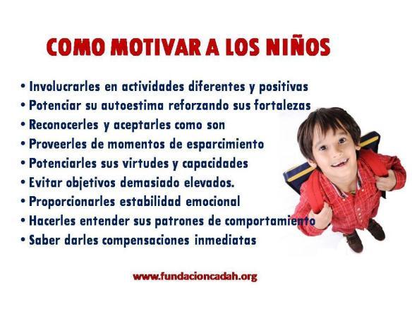 motivar a los niños