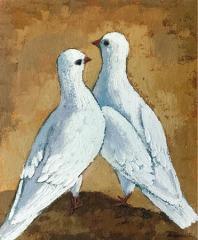 dos palomas juntas