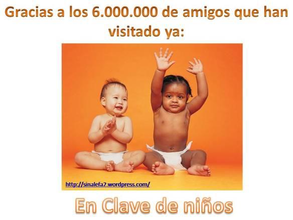 Gracias 6000000