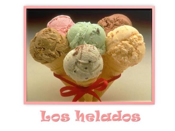 Los helados