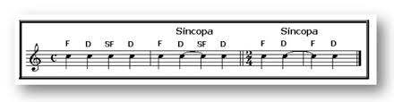 síncopa