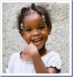 niña negra
