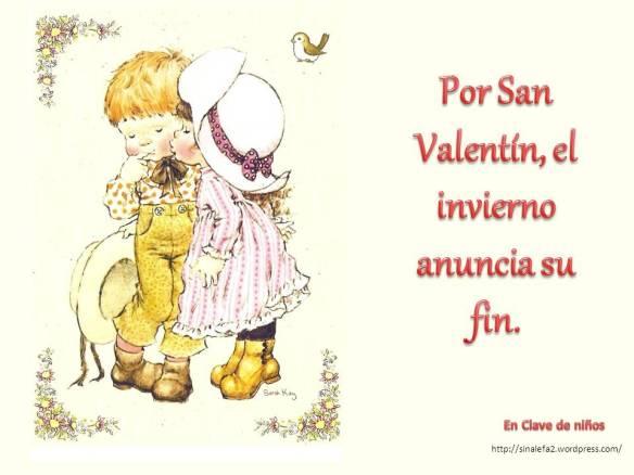 Por San Valentín, el invierno anuncia su fin