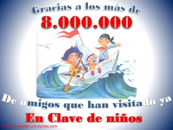 gracias 8000000