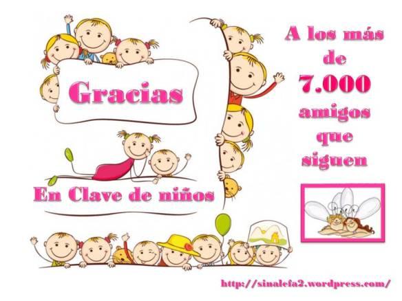 7000 amigos