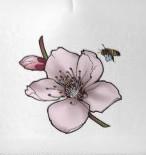 gorra flor