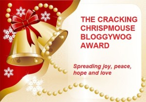 The cracking chrispmouse bloggywog-award