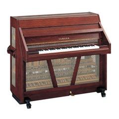 La celesta es un instrumento musical de percusión, con la apariencia de un pequeño piano vertical