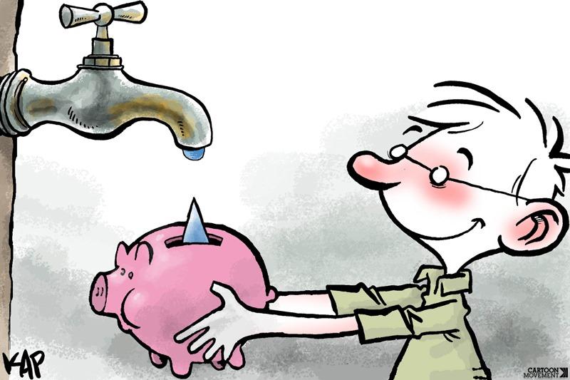 Por qu cuidar el agua en clave de ni os for Cosas para ahorrar agua