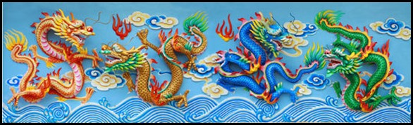 four-color-chinese-dragon-14874426