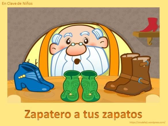 Zapatero a tus zapatos en clave de ni os - Zapatero para ninos ...
