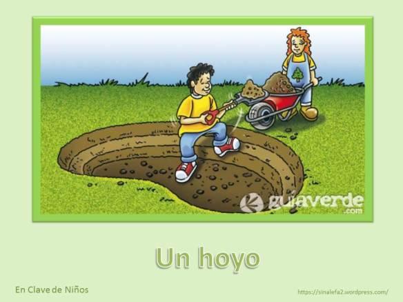 Un hoyo