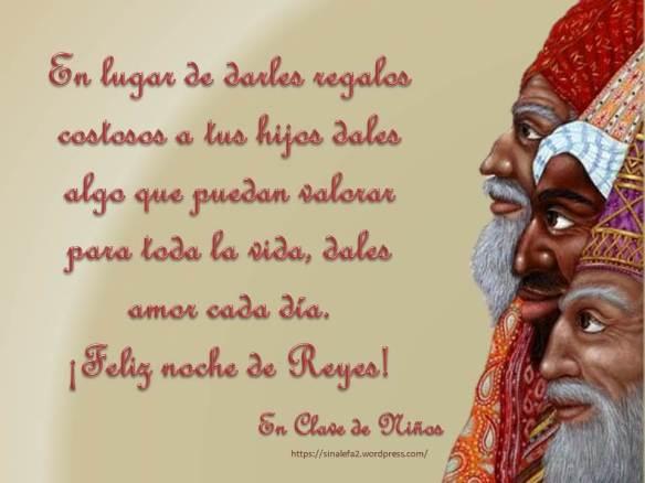 feliz noche de Reyes
