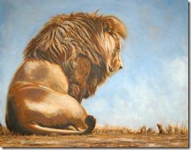 león y ardilla