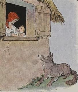 el lobo, la nani y el niño