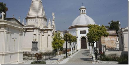 Panteones cementerio San Miguel (Málaga) 1903