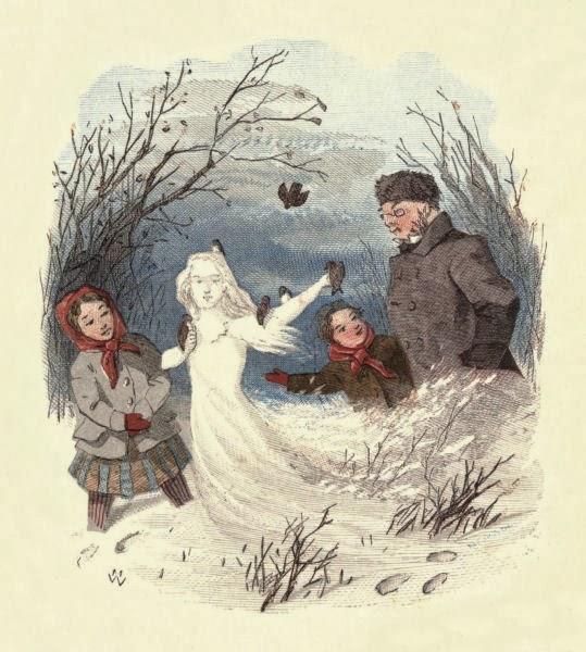 Resultado de imagen de Cuento la niña de nieve