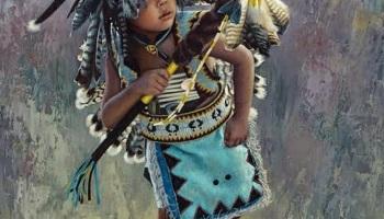 Retratos al Óleo de indios Americanos, Karen Noles